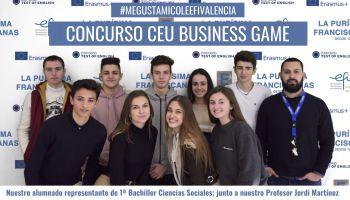 Nuestro alumnado de 1º Bachiller Ciencias Sociales se presenta al CEU Business Game