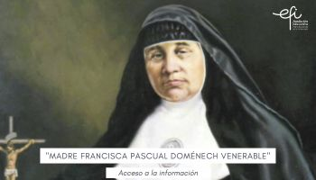 "Madre Francisca Pascual Doménech ""Venerable"""