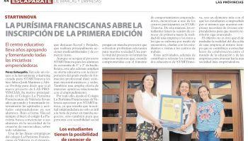 Nuestro Colegio abre la inscripción de la primera edición del Proyecto STARTINNOVA