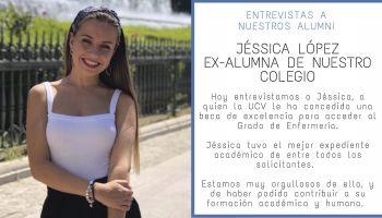 """Entrevista a nuestra """"alumni"""" Jéssica Lopez, galardonada con la beca de excelencia de la UCV"""