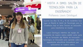 Visitamos SIMO, Salón de Tecnología para la Enseñanza