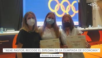 Entrega de Diplomas a los 10 finalistas de la XVIII Edición de la Fase Local de la Olimpiada de Economía