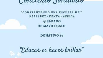 """Concierto Solidario """"Construyendo un escuela HFI"""""""