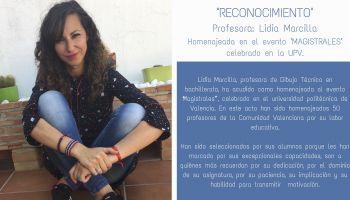 Reconocimiento a Nuestra Profesora Lidia Marcilla