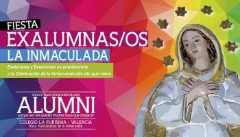 Exalumnos y Exalumnas os emplazamos a la Celebración de la Inmaculada del año que viene