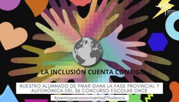 El alumnado de 3º ESO PMAR gana la fase provincial y autonómica del Concurso Escolar del Grupo Social ONCE
