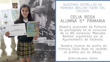 Nuestra alumna Celia Rosa obtiene un reconocimiento en el concurso de dibujo Menudes Besties