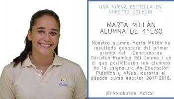 Una nueva estrella en nuestro colegio - Marta Millán