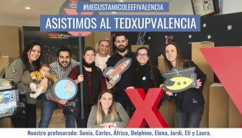"""Asistimos al evento TEDxUPValencia, un evento muy """"Curiosity"""""""