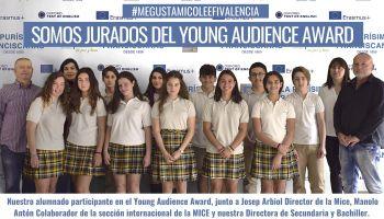 Nuestro alumnado de Secundaria participa como jurado en el Young Audience Award