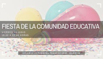 Fiesta de la Comunidad Educativa curso 2018-19