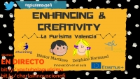 "Charla ERASMUS+ ""Enhancing Creativity and Innovation in my Classroom"""