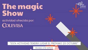 """""""The Magic Show"""" Actividad ofrecida por Colevisa"""